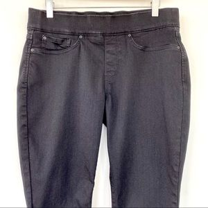 Levi's black Pull-On high waisted Skinny pants